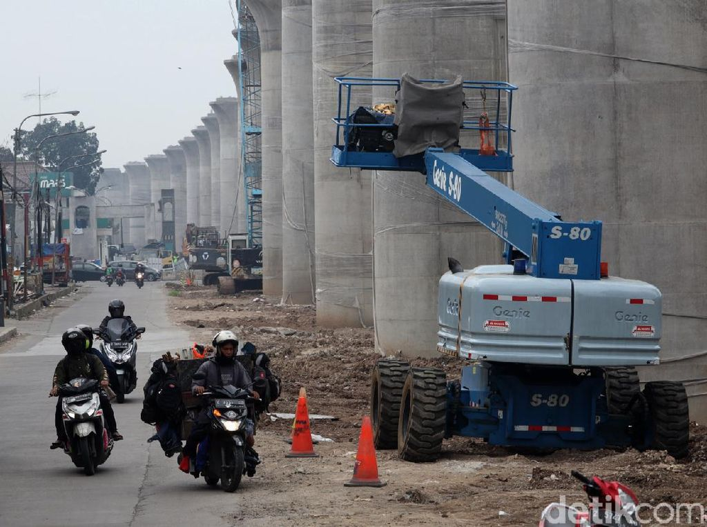 Progres Terkini Proyek Kereta Cepat di Kawasan Buahbatu