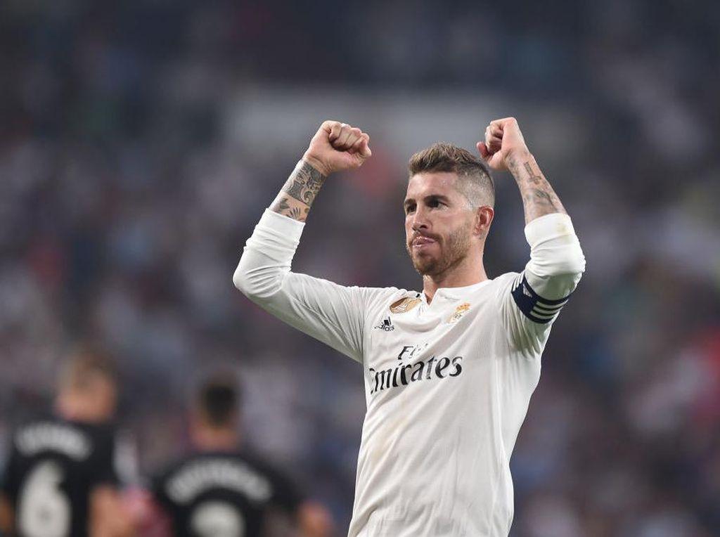 Presiden Madrid: Dulu Sergio Ramos Cuma Bocah, Kini Seorang Legenda