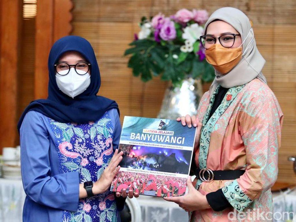 Stafsus Presiden Angkie Yudistia Apresiasi Banyuwangi Peduli Disabilitas