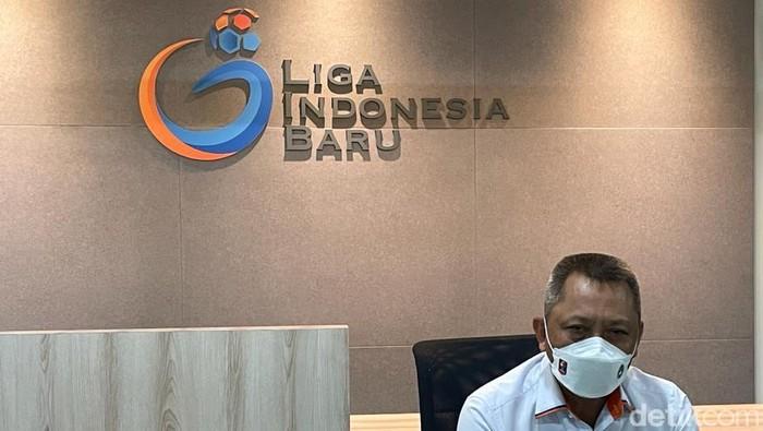 Direktur Operasional PT Liga Indonesia Baru Sudjarno menjelaskan sistem semi bubble  to bubble di Liga 1 2020/2021.
