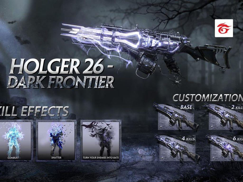 Tampilan Holger 26 Senjata Mythic di Garena Call of Duty: Mobile