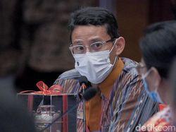 Sandiaga: Kasus Covid di Bali Naik Bukan Gara-gara WFB