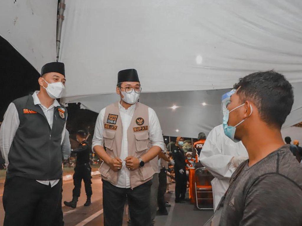 Penyekatan Suramadu Sisi Bangkalan Dimulai Hari Ini, 2 Kepala Daerah Pantau Persiapan