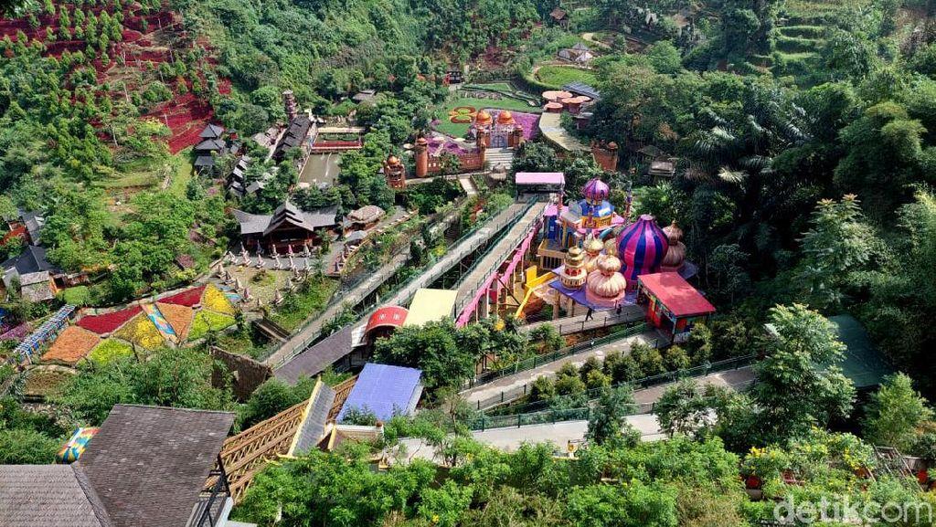 Wisata Lembang Ditutup Imbas Bandung Siaga 1