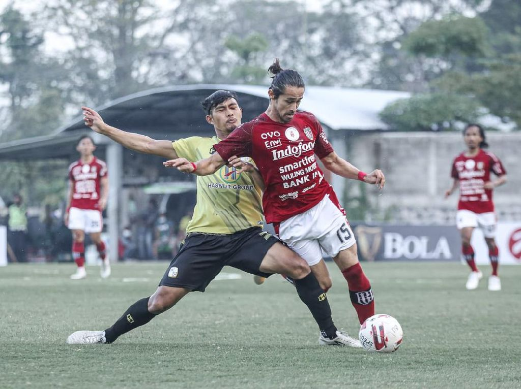 Tutup Tour de Java, Bali United Keok 0-2 dari Barito Putera