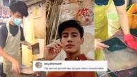 Bikin Salfok! Penjual Ikan Tampan Bersihkan Bawal Ini Jadi Viral