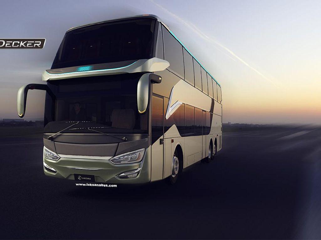 Tembus Pasar Ekspor, Apa Keunggulan Bus Double Decker Laksana?