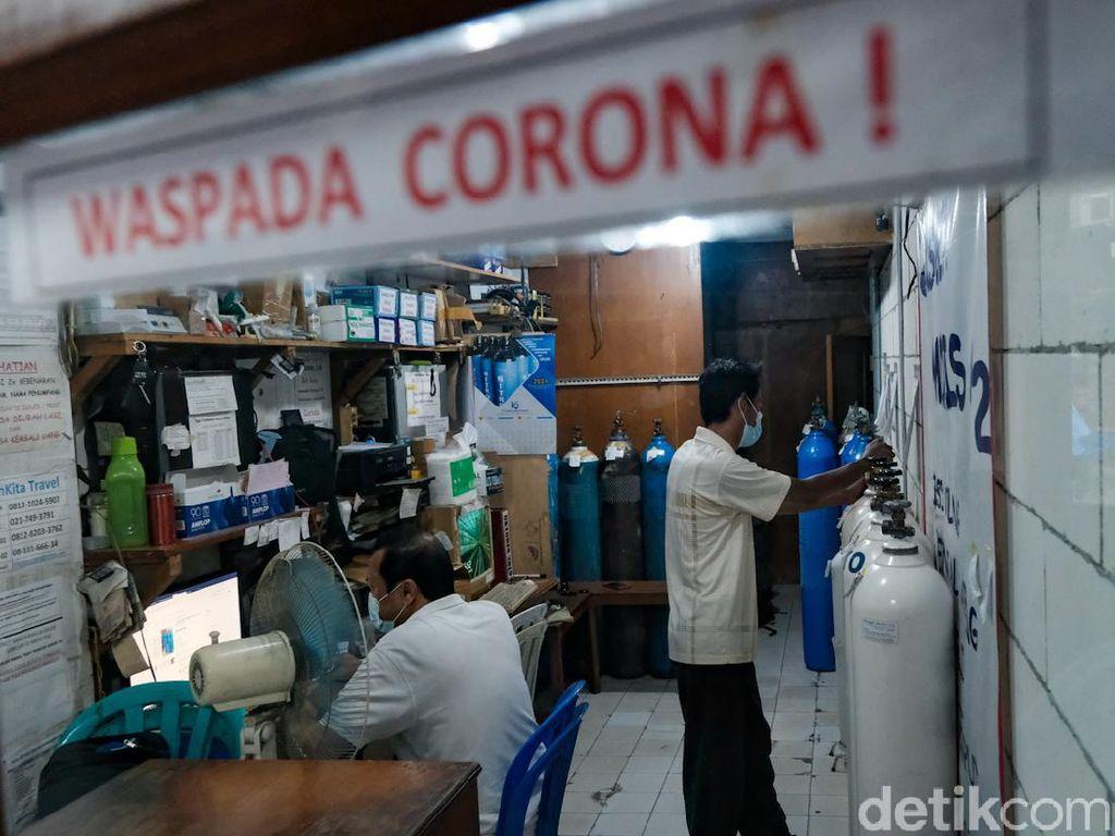 Corona Melonjak, Kebutuhan Oksigen Medis Meningkat