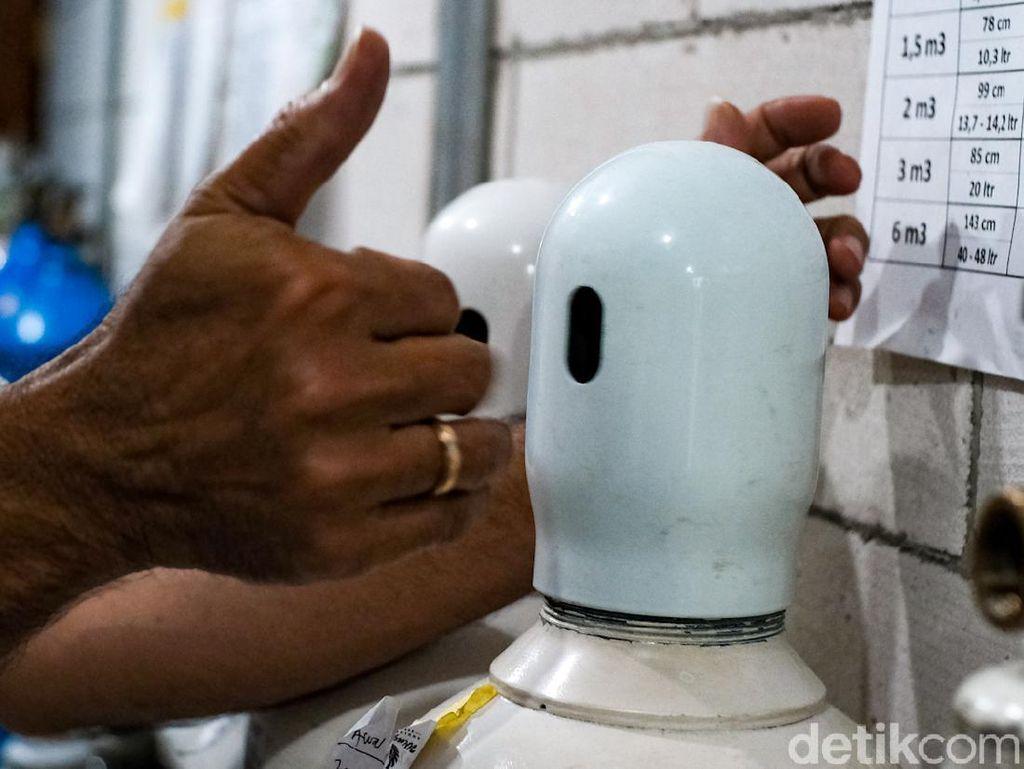 Corona Melonjak, Stok Tabung Oksigen Sejumlah RS di Makassar Masih Cukup