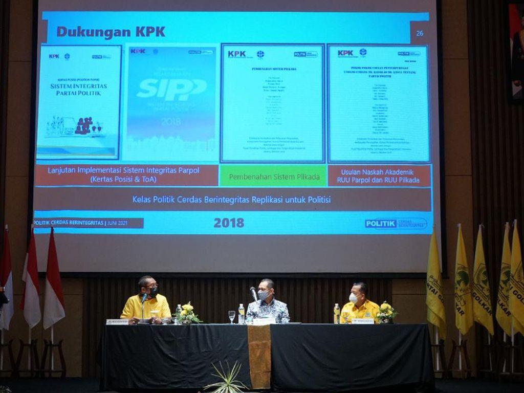 Komisioner KPK Ingatkan Kader Golkar soal Titik Rawan Korupsi Dewan