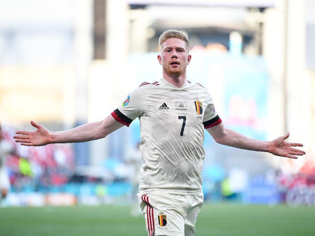 Wow! Kevin De Bruyne Bikin Rekor Langka di Euro 2020