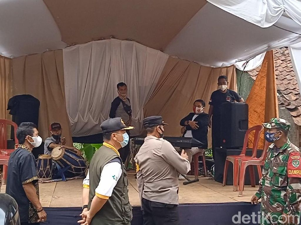 Polisi Setop 2 Pentas Organ Tunggal Hajatan di Sukabumi