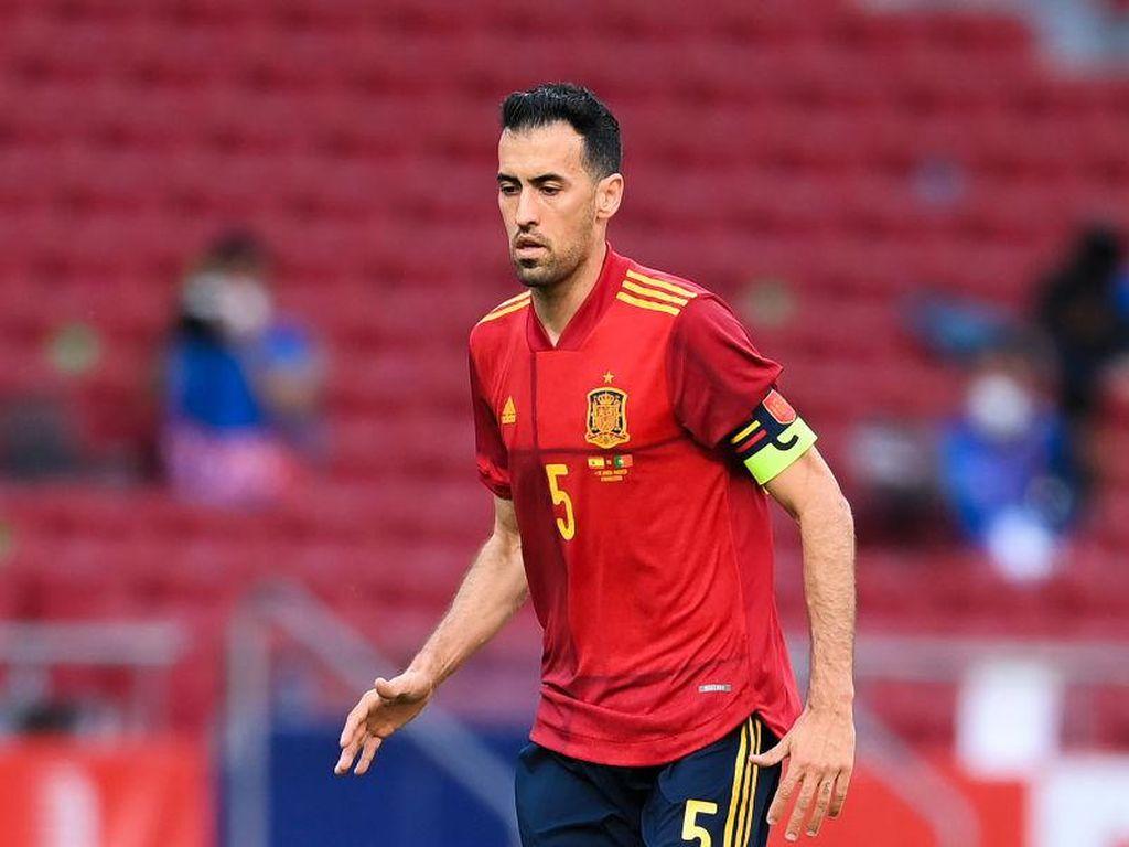 Busquets Sudah Negatif Covid-19, Balik ke Skuad Spanyol