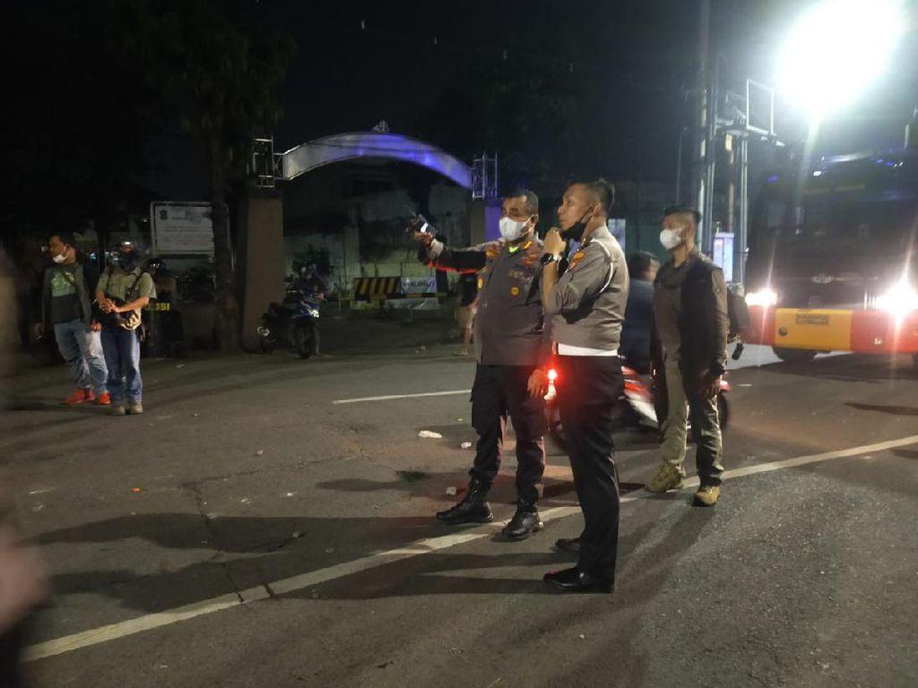 Jalan Ngaglik Menuju Stadion Tambaksari Kondusif Usai Ribuan Bonek Berkerumun