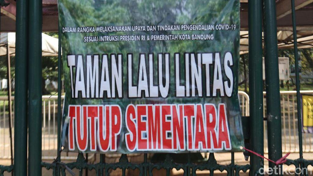Foto: Corona Melonjak, Taman Lalu Lintas Bandung Tutup Sementara