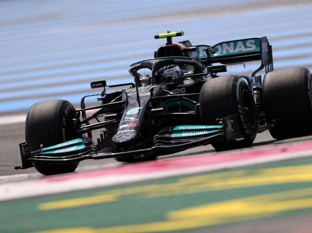 Hasil FP1 GP Prancis 2021: Bottas Ungguli Hamilton