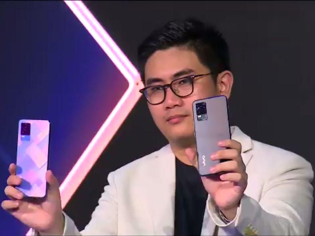 Vivo V21 Andalkan Bodi Tipis dan Kamera Selfie 44MP