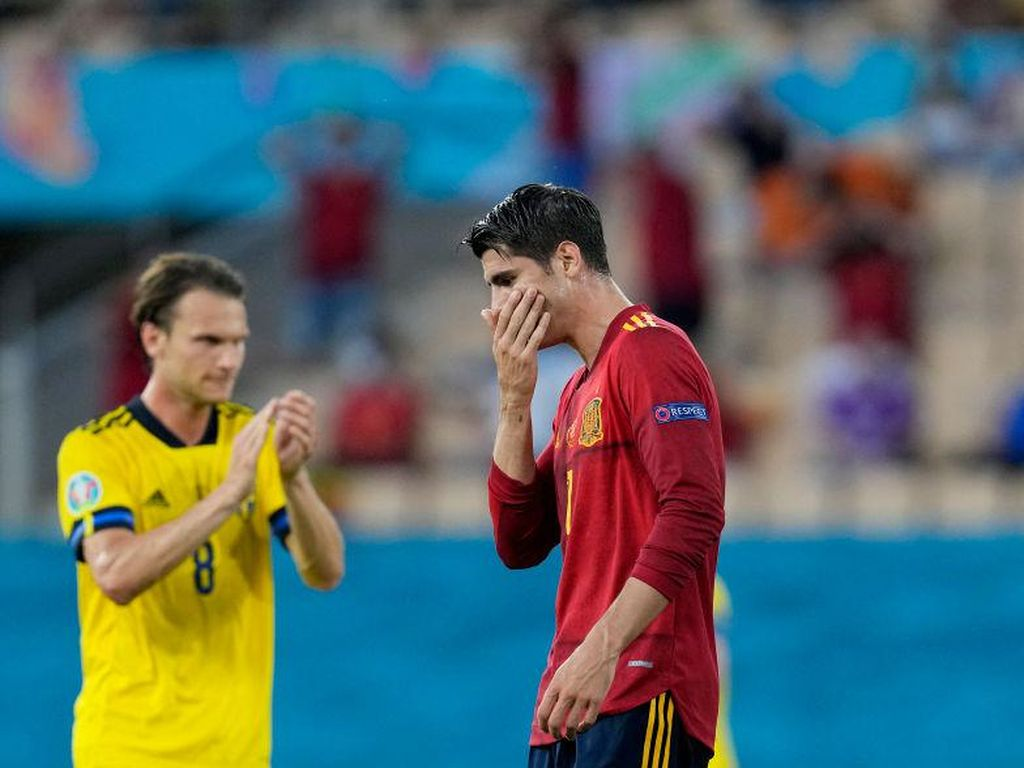 Morata Sampai Sulit Tidur Usai Laga Spanyol Vs Swedia