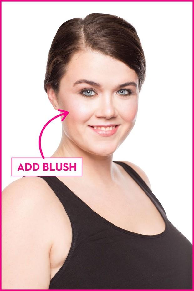 Blush on untuk wajah bulat/goodhousekeeping.com