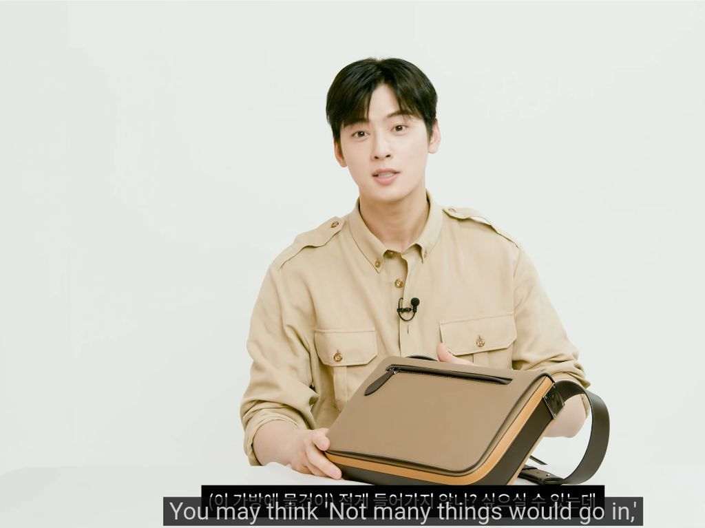 Cha Eun Woo Ungkap Isi Tas Mahalnya, Tunjukkan Jam Mewah Hingga Foto SIM