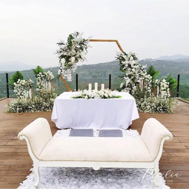 Pemandangan Venue Pernikahan di Royal Tulip Gunung Geulis / sumber : instagram.com/royaltulipgg