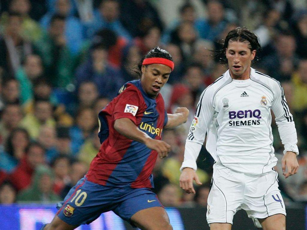 Ronaldinho Ledek Sergio Ramos, Balasannya Menohok Banget!