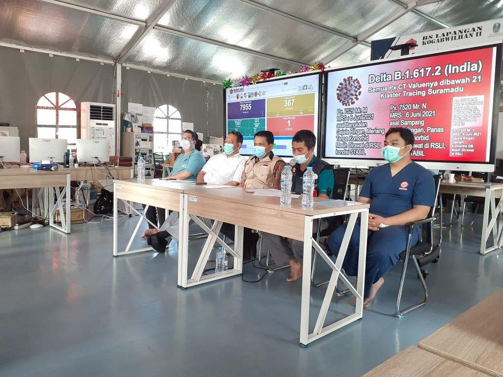 Bed untuk Pasien COVID-19 di RSLI Surabaya Tersisa 41