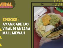 Kisah Aa Sipit Jual Ayam Cabe Ijo Viral di Antara Mall Mewah Jakarta