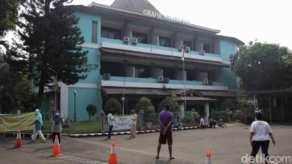 Corona Merebak, Tempat Isolasi di Graha Wisata TMII Kian Menipis