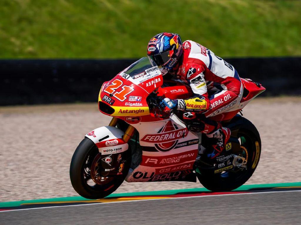 Moto2: Rider-rider Tim Indonesia Berburu Podium di Sachsenring