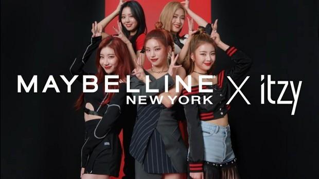 ITZY sebagai Brand Ambassador Maybelline Global