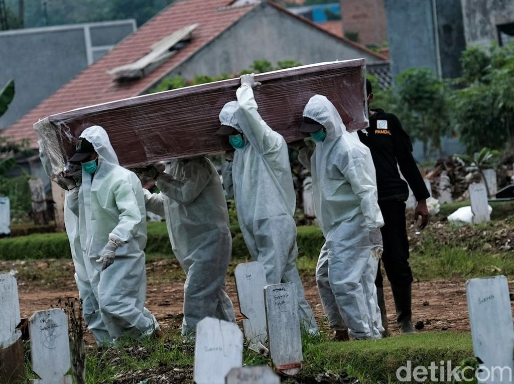 Alert! Kematian Corona di 5 Provinsi Luar Jawa Bali Ini Naik
