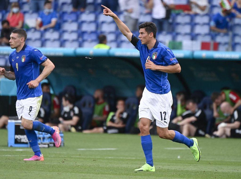 Matteo Pessina Bawa Italia Ungguli Wales di Babak Pertama