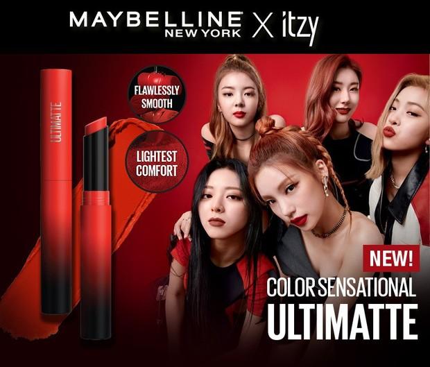Kolaborasi Maybelline x ITZY Ultimate Slim Lipstick