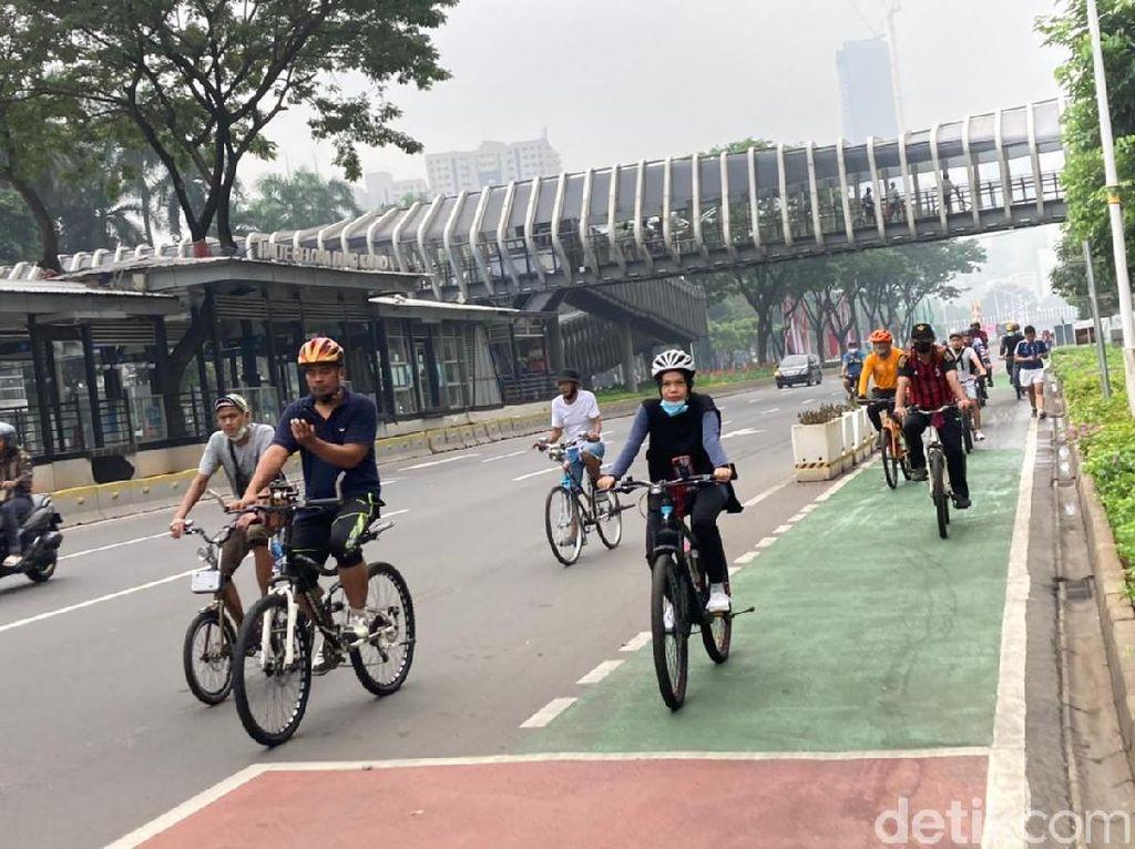 Penambahan Jalur Sepeda di DKI Terkendala Refocusing Anggaran