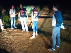 Usut Kasus Begal Bersenpi di Bukit Algoritma, Polisi Lakukan Olah TKP