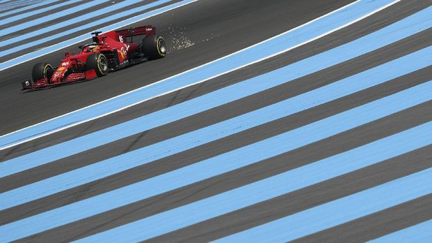 Formula One F1 - French Grand Prix - Circuit Paul Ricard, Le Castellet, France - June 18, 2021 Ferrari's Charles Leclerc during practice REUTERS/Yves Herman     TPX IMAGES OF THE DAY