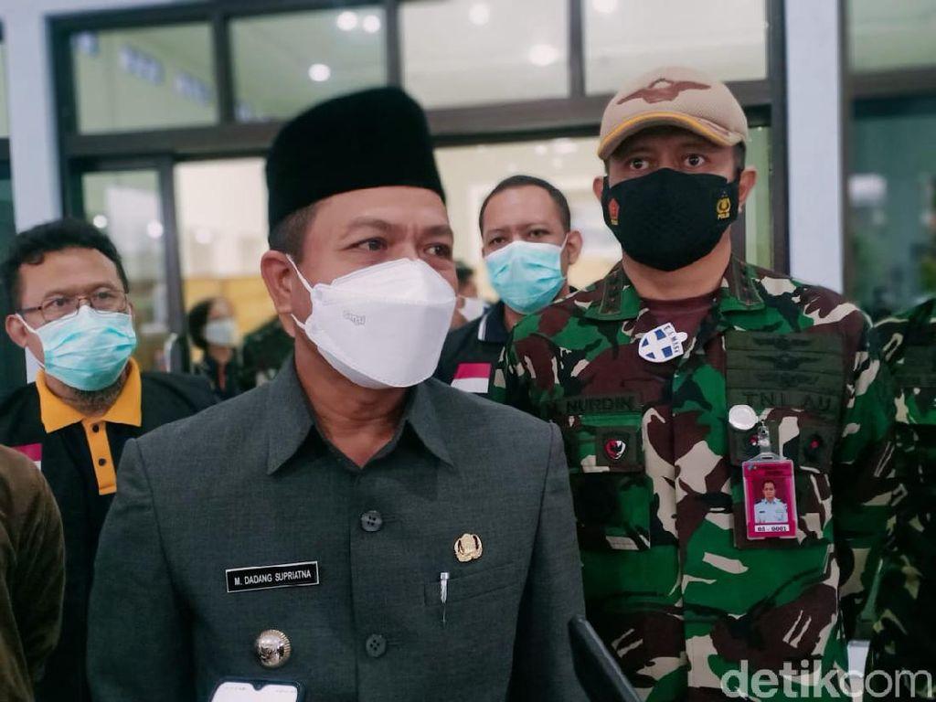 Bupati Bandung Tegaskan Renovasi Ruang Komisi-Fraksi DPRD Dilanjutkan