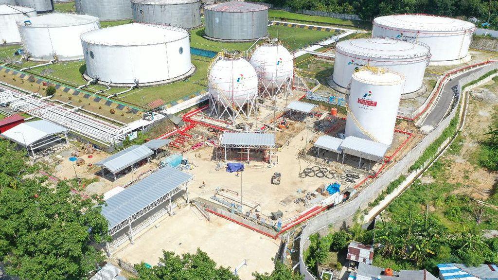 Capai 95%, Begini Progres Pembangunan Terminal LPG Pertamina di Ambon