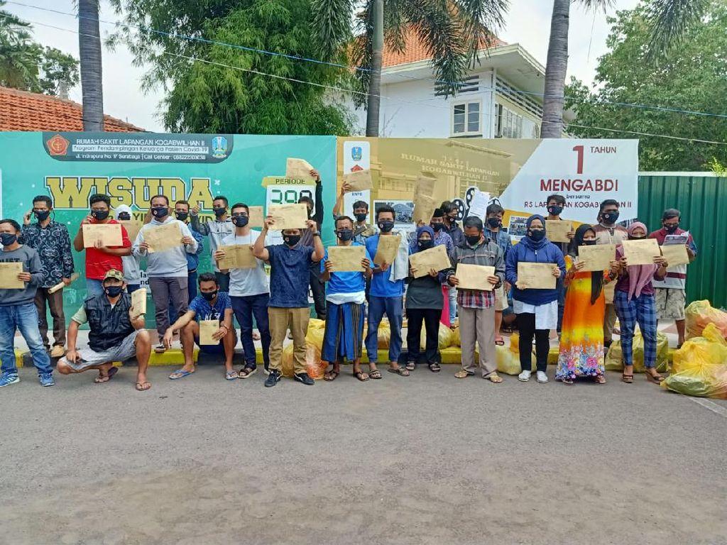 Dua Pasien Varian Delta Asal Sampang-Bangkalan yang Dirawat di RSLI Sembuh