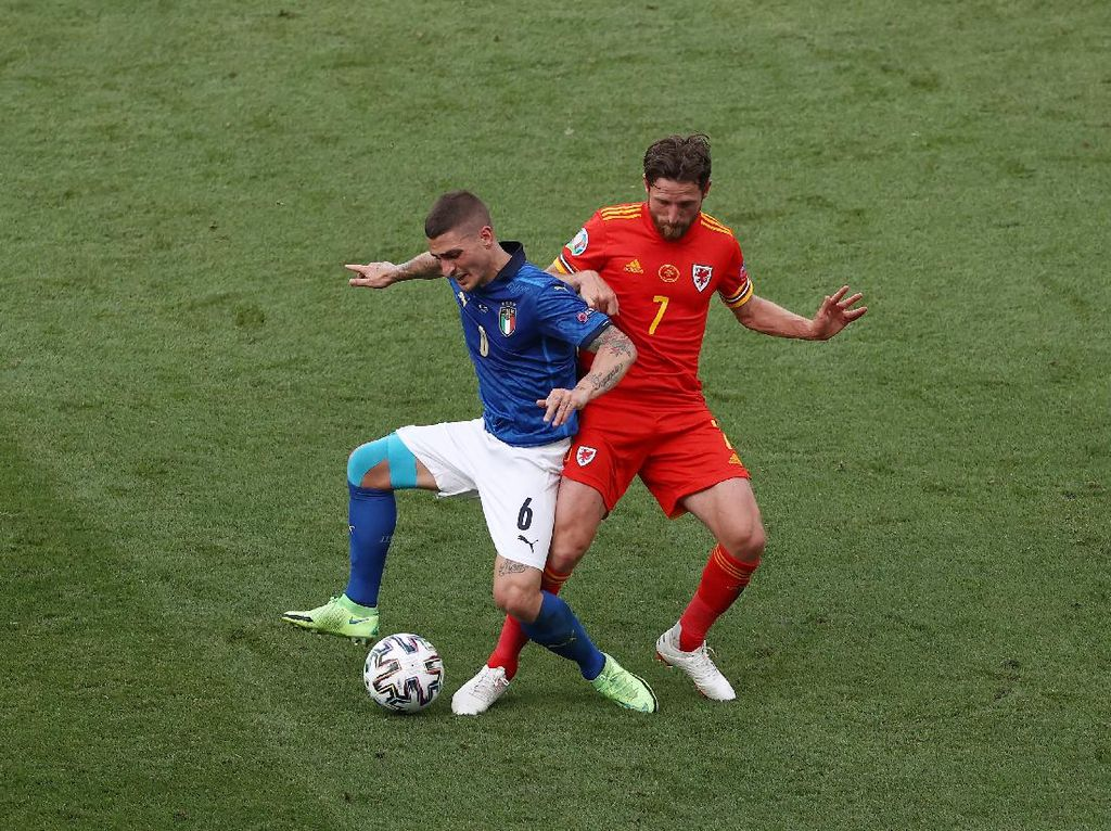 Marco Verratti Akhirnya Debut Juga di Euro!