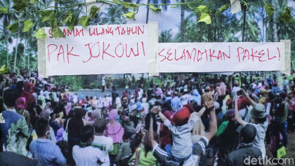 HUT Jokowi Dari Petani Banyuwangi yang Terjerat Konflik Agraria