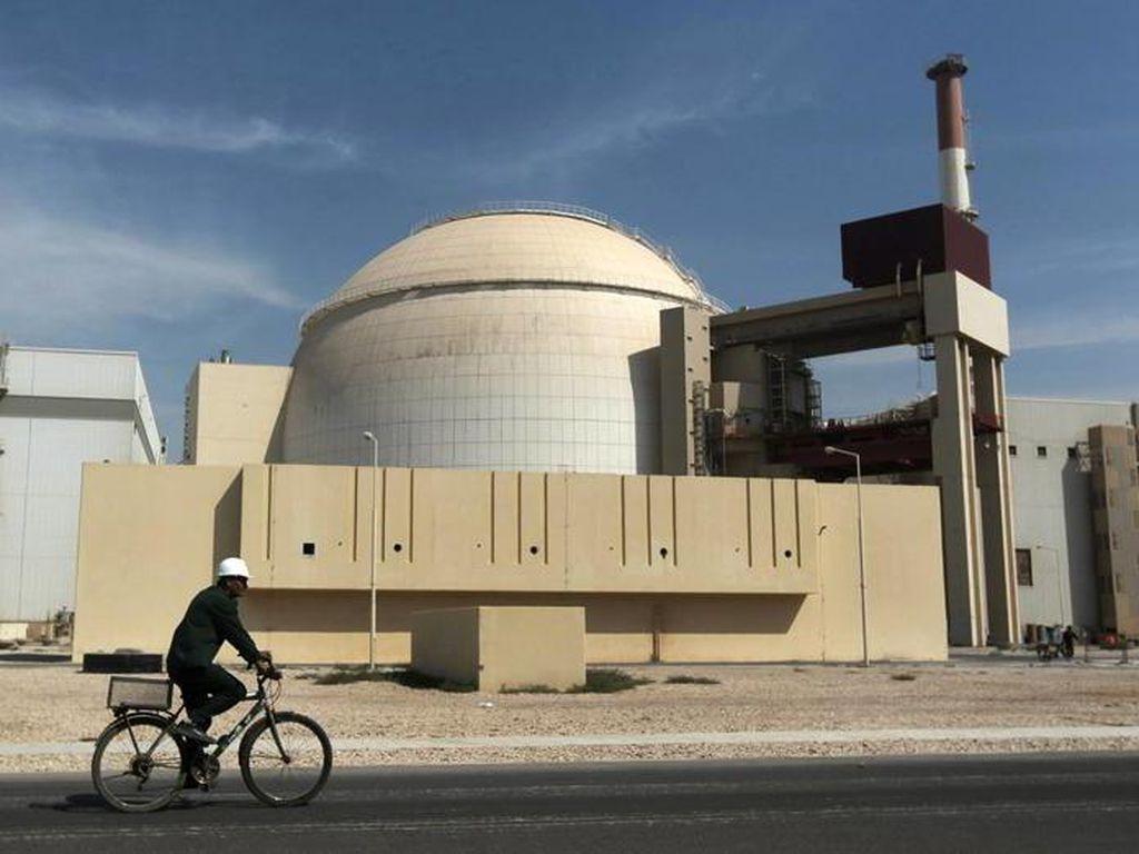 Pembangkit Listrik Tenaga Nuklir Iran Tiba-tiba Ditutup, Ada Apa?
