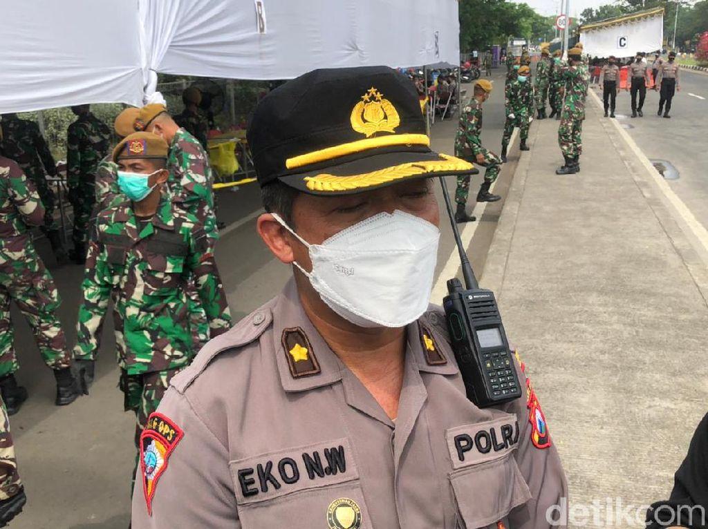 470 Personel Gabungan Disiapkan Kawal Warga Kembali ke Madura Usai Demo