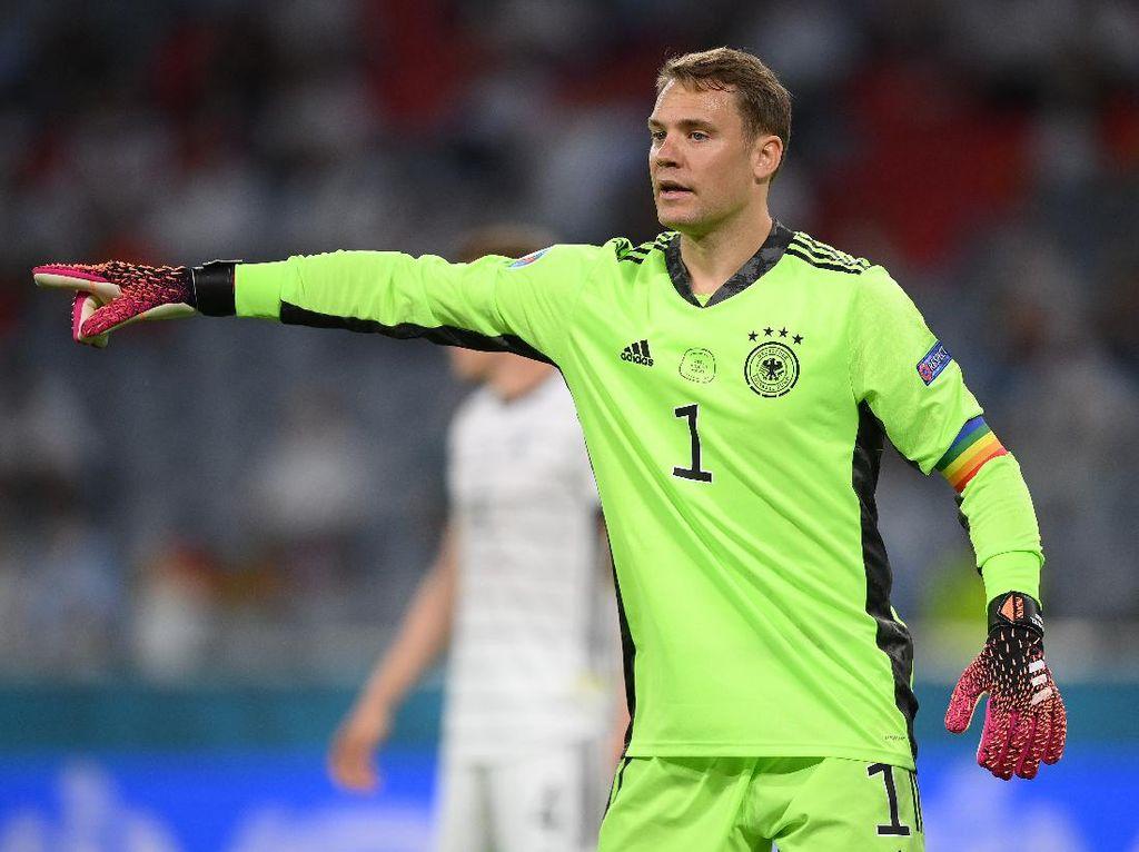 Manuel Neuer Dukung LGBT di Euro 2020, Diselidiki UEFA
