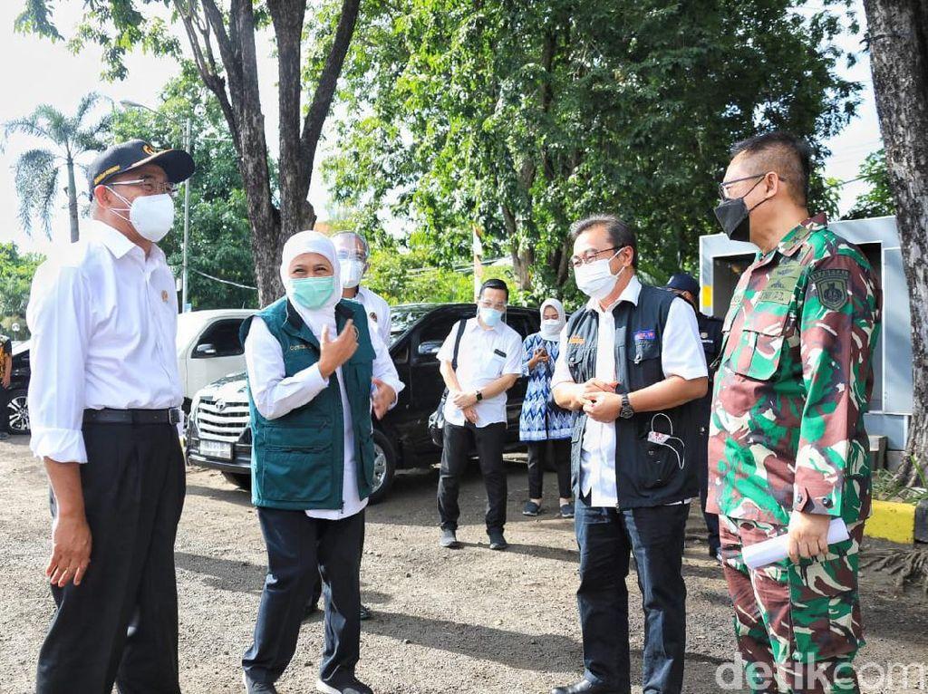 Menko PMK Sebut Penanganan COVID-19 di Bangkalan Relatif Mudah