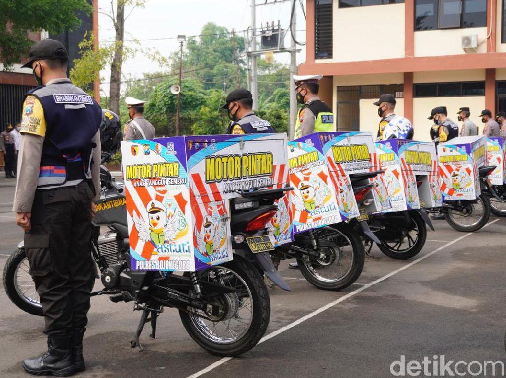 Motor Pintar, Program Gugah Minat Baca Anak di Bojonegoro