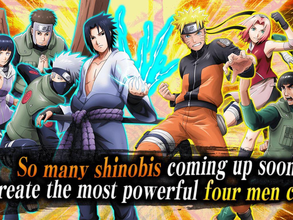 Naruto X Boruto Ninja Voltage, Game Mobile Naruto Grafik Memukau