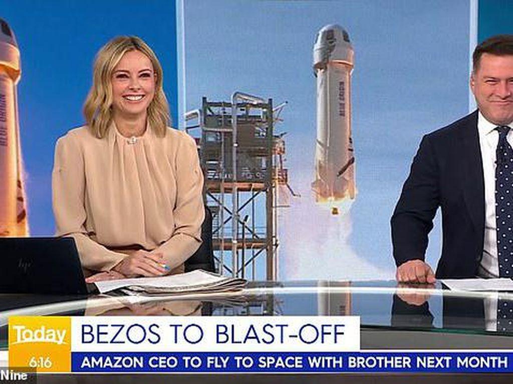 Roket Orang Terkaya Ditertawakan Karena Mirip Kemaluan
