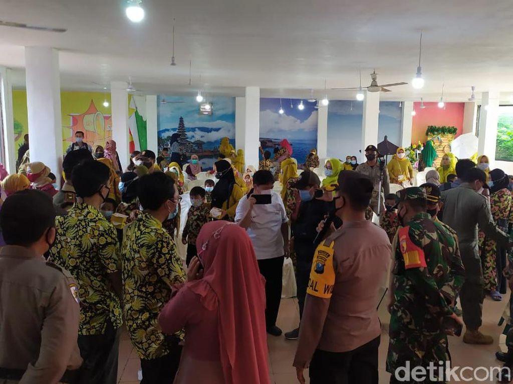 Langgar Prokes, Pelepasan Murid TK di Mojokerto Dibubarkan